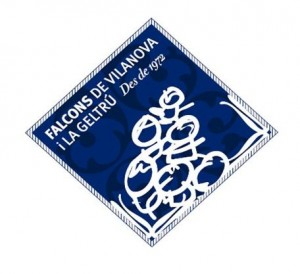 Logo Falcons de Vilanova i la Geltrú (nou)